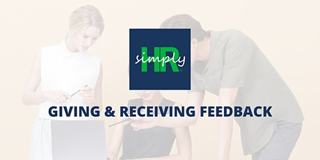 Giving and Receiving Feedback tickets