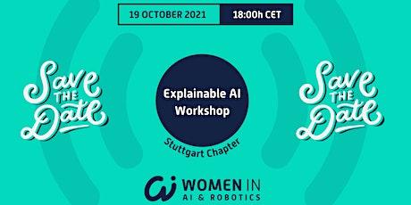 Explainable AI Workshop bilhetes