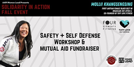 Solidarity in Action: Intro to Safety & Self-Defense Workshop + Fundraiser tickets