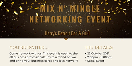 Mix N' Mingle Networking Event tickets