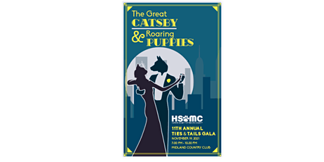 11th Annual Ties & Tails Gala- The Great Catsby & Roaring Puppies tickets