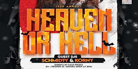 Heaven & Hell Halloween tickets