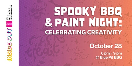 Spooky BBQ & Paint Night: Celebrating Creativity tickets