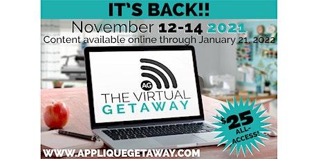 The 2021 Virtual Getaway Presented by The Applique Getaway entradas