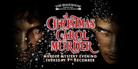 Murder Mystery: A Christmas Carol Murder tickets