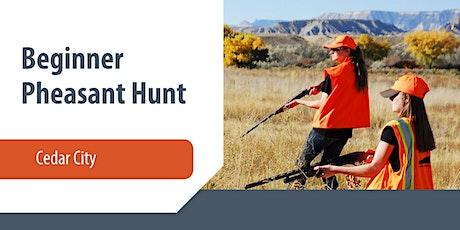 Cedar City Beginner Pheasant Hunt tickets