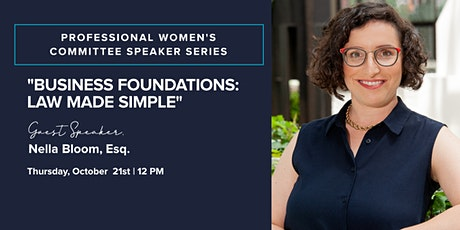 Law Made Simple featuring Nella Bloom, Esq. tickets