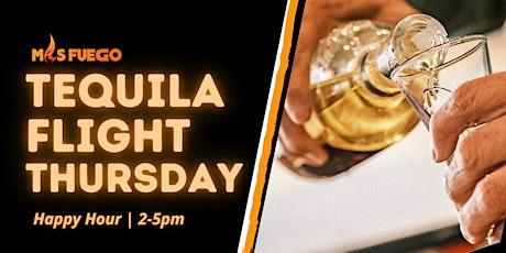 Tequila Flight Thursday Mas Fuego Restaurant, Fremont | Happy Hour 2pm-5pm tickets