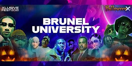 Brunel University goes - Halloween X Festival tickets