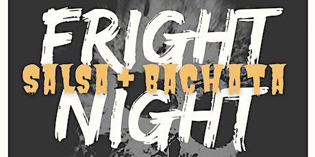 Fright Night! Salsa Bachata Party @ Lago Mar 10/30 tickets