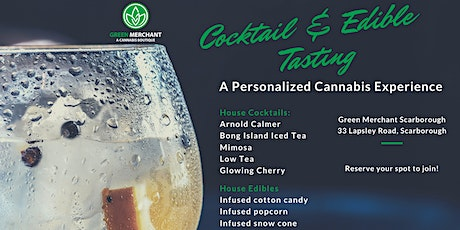 Cannabis Cocktail Tasting (19+ Event in Scarborough) tickets