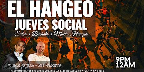 #1 EL HANGEO DANCE SOCIAL: Salsa & Bachata Dancing in Atlanta tickets