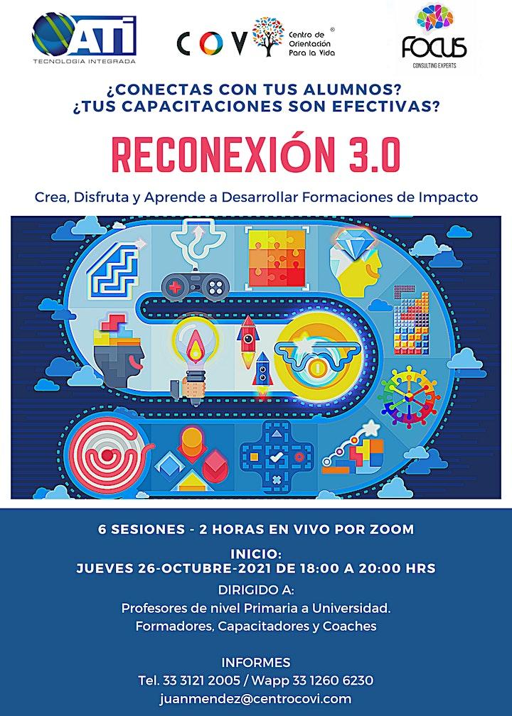 Imagen de RECONEXIÓN 3.0 - Taller de Gamificación y Storytelling