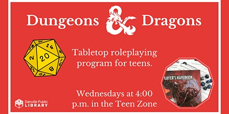 Dungeons & Dragons for Teens tickets