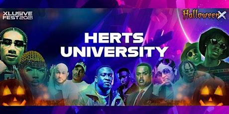 Herts University goes - Halloween X Festival tickets