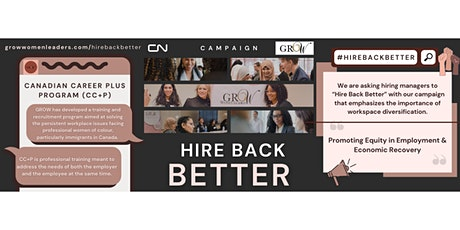 Hire Back Better tickets