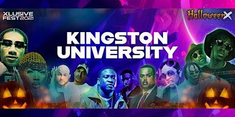 Kingston University goes - Halloween X Festival tickets