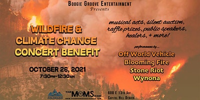 Wildfire & Climate Change Concert Benefit