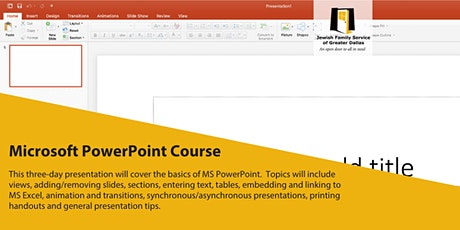 Microsoft Powerpoint 3 Day Course tickets