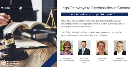 Legal pathways to Psychedelics in Canada:  The Road of Regulation tickets