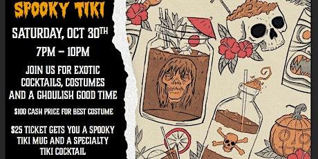 Spooky Tiki tickets