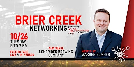 Free  Brier Creek Rockstar Connect Networking Event (October, NC) tickets