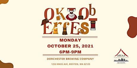 OKTOBERFEST with AREAA Boston tickets