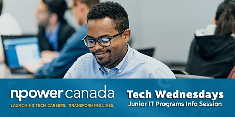 Tech Wednesdays with NPower Canada tickets