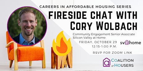 Careers in Affordable Housing: Fireside Chat with Cory Wolbach tickets