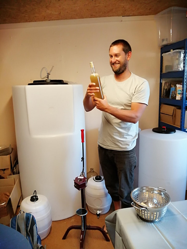 Tasting and Making Mead image