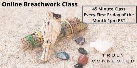 Online Breathwork Class tickets