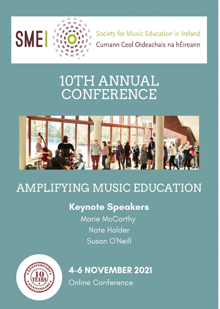 10th Annual Conference of the Society for Music Education in Ireland image