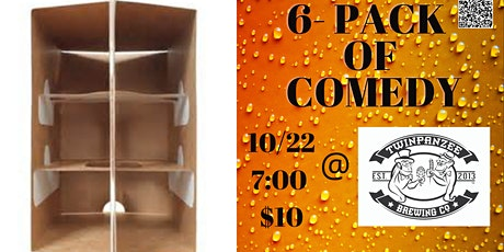 6 Pack of Comedy at Twinpanzee Brewing Company! tickets