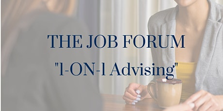 """The Job Forum - """"1-On-1 Advising"""" Personal Career & Job Search Advice tickets"""