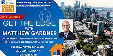 6th Annual Get the Edge with Economist Matthew Gardner tickets