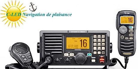 VHF-ASN Examen radio maritime en classe virtuelle (F01) billets
