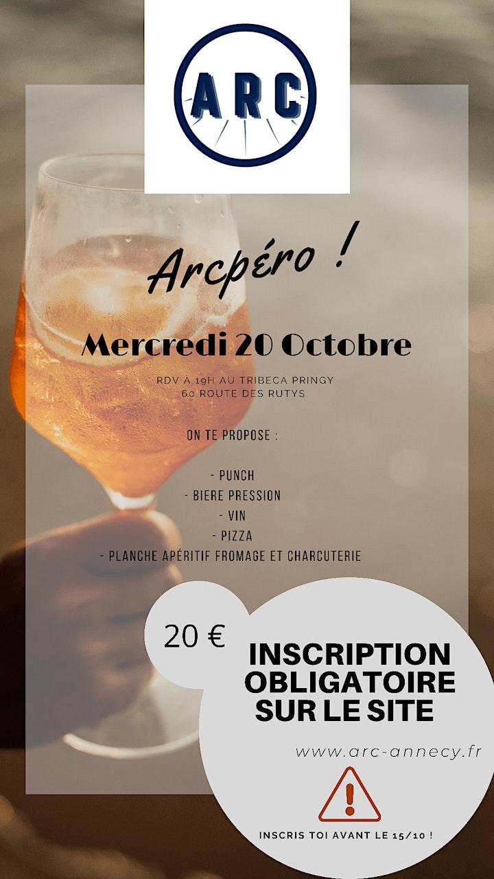 Image pour ARC Apéro - 20 Octobre 2021