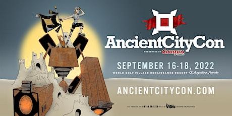 Ancient City Con 2022 tickets