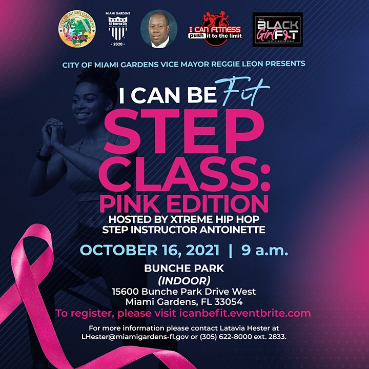 I Can Be Fit Step Class: Pink Edition image