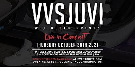 VVSJuvi Live @ Fortune Sound Club tickets