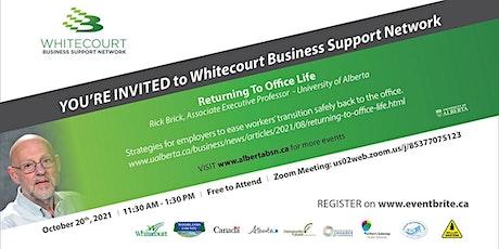 Whitecourt Business Support Network Event tickets