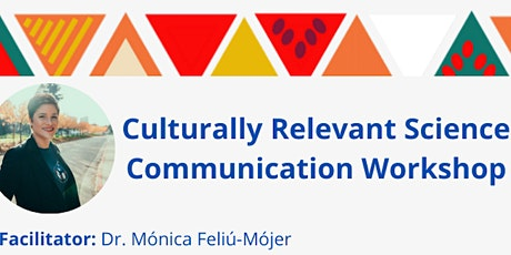 Culturally relevant science communication workshop tickets