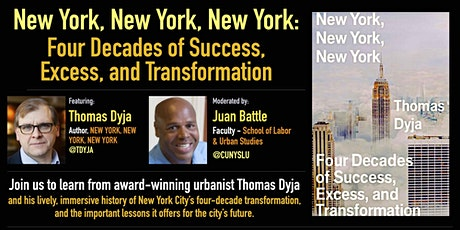 NEW YORK, NEW YORK, NEW YORK: 4 Decades of Success, Excess & Transformation tickets