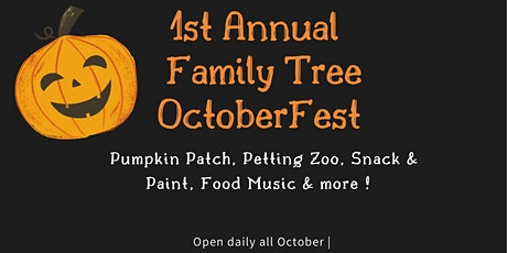 Family Tree 1st Annual OctoberFest tickets