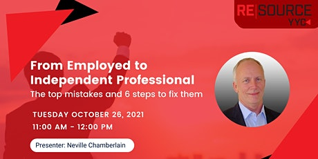 From Employed to Independent Professional - The top mistakes and 6 steps to ingressos
