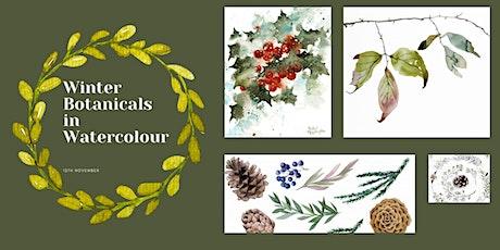 Watercolour Workshop - Beautiful Winter Botanicals tickets