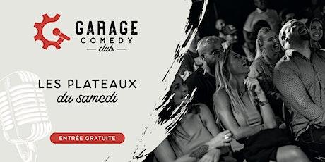 Garage Comedy Club - les samedis billets
