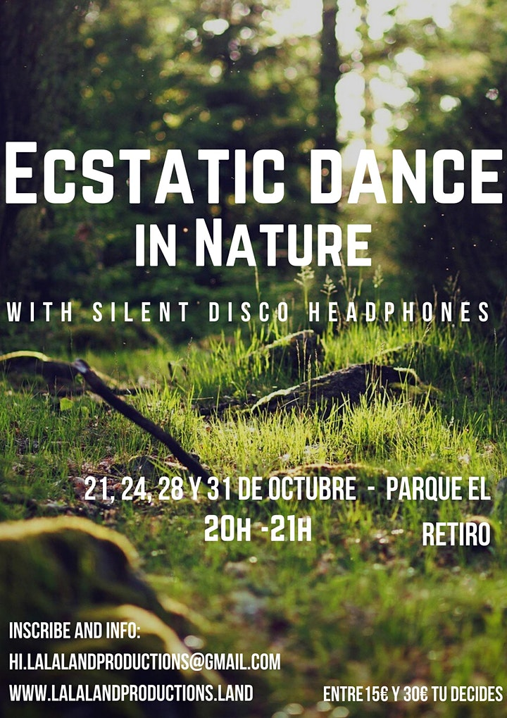 Ecstatic Dance in Nature image