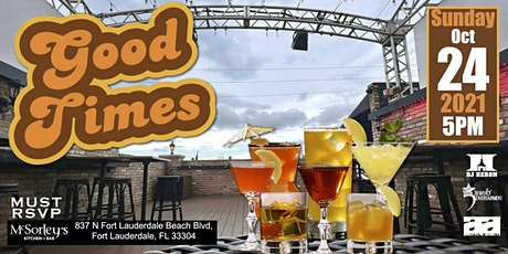 GOOD TIMES -A Classics Rooftop Dance Party tickets