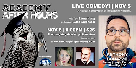 ACADEMY AFTER HOURS: a night of STAND UP COMEDY with  Funnier By The Lake! tickets